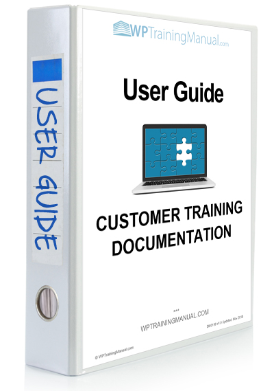 WPTrainingManual.com - Training Section: User Guide - Getting Started